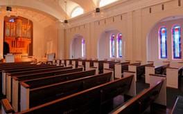 interior of Paris-Yates Chapel